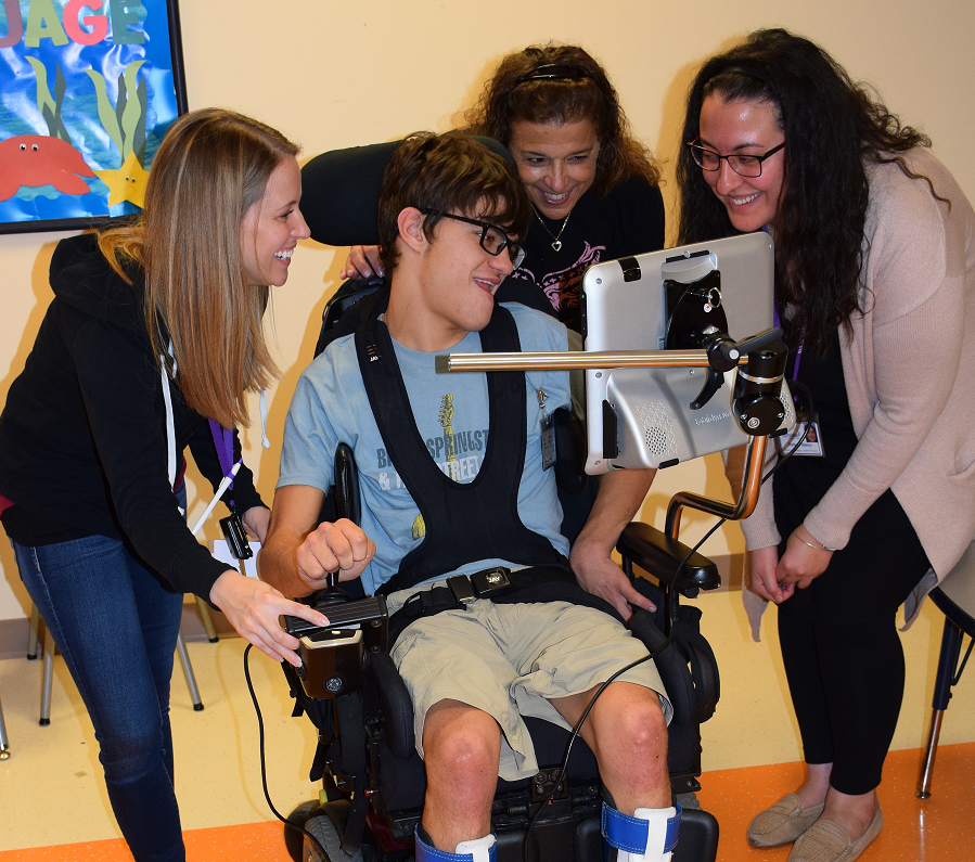 Assistive Technology Keeps Nick on Top of his Game