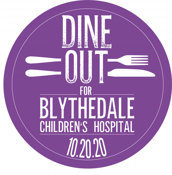 Dine Out for Blythedale logo