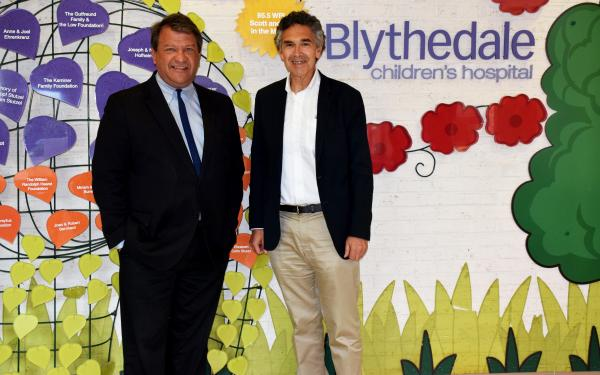Westchester County Executive Visits Blythedale