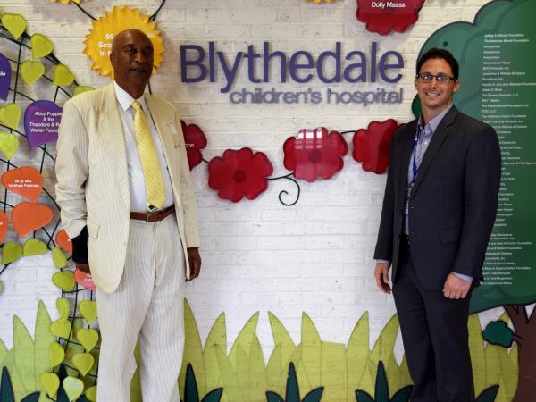 Assemblyman Pretlow Pays a Visit to Blythedale