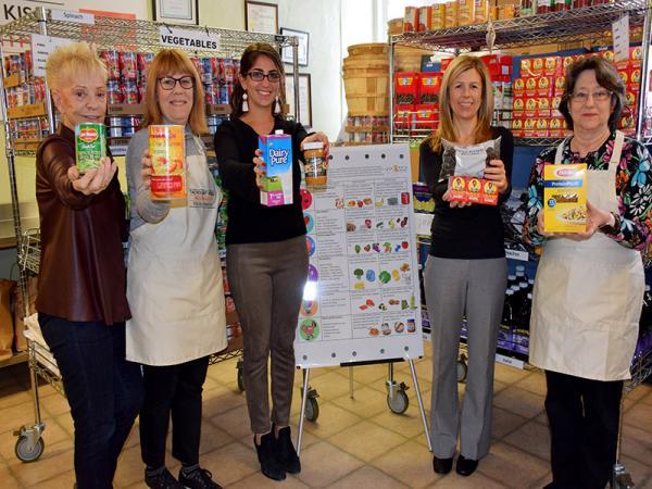 Food Nudging Program kick off at Mt. Kisco Interfaith Food Pantry.