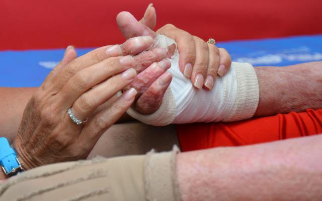 complex wound and burn management