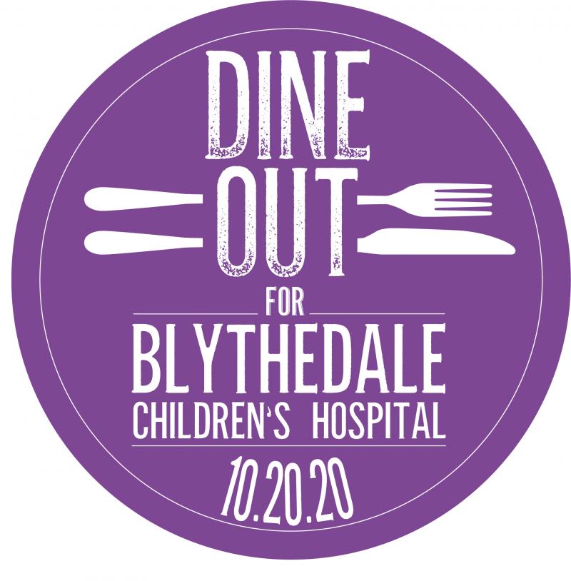 Dine Out for Blythedale logo